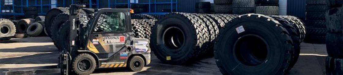 Jason's Tyres tyre stock